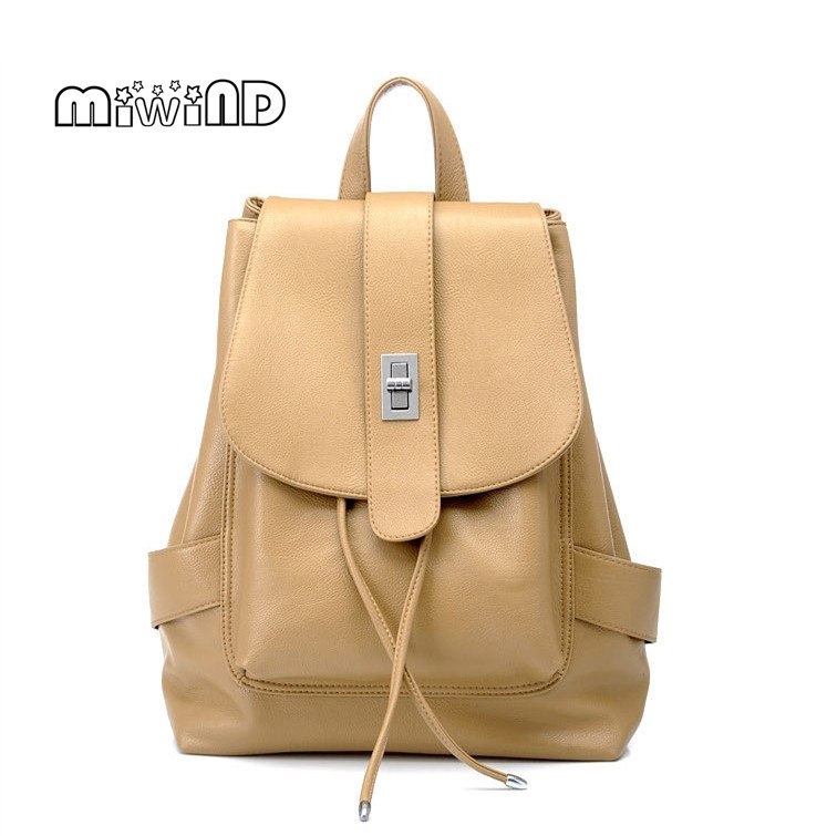 MIWIND Backpack Women Bag Leather Backpack Mochila Feminina School Bags Special Offer Backpacks for Teenage Girls Free Shipping miwind new backpack women school bags for teenagers mochila feminina women bag free shipping leather bags women leather backpack