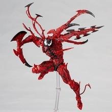 Venom The Amazing Spider-Man Marvel Carnage Anime Action Figures Model Toys Edward Eddie Brock Figurine Spider Man Brinquedos