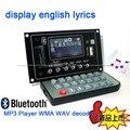 Bluetooth Аудио Приемник 12 В Mp3-плеер WMA WAV декодер аудио доска Fm-радио для Усилитель спикер