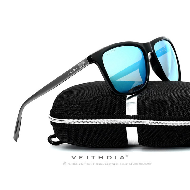 6d1f6a2606 4 Colors Veithdia Luxury Mens Polarized UV400 Sunglasses Driving Glasses  Eyewear HD-in Sunglasses from Apparel Accessories on Aliexpress.com