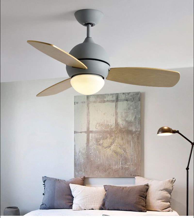 Coloré Simple Refroidissement Ventilateurs Moderne Fans Pour Macaron Avec Salon Ventilateur Led Inverser Les Des De Plafond Mignon htrdCsQ