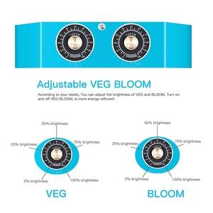 Image 4 - ออกแบบใหม่ LED พืชเติบโตโคมไฟหรี่แสงได้ 1000 วัตต์ COB full Spectrum fitolampy สำหรับในร่มปลูกผักดอกไม้ phyto โคมไฟ