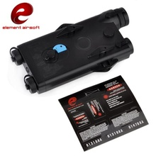 Element Airsoft Tactical AN/PEQ-2 Battery Case Red Laser Version PEQ Battery Box EX426