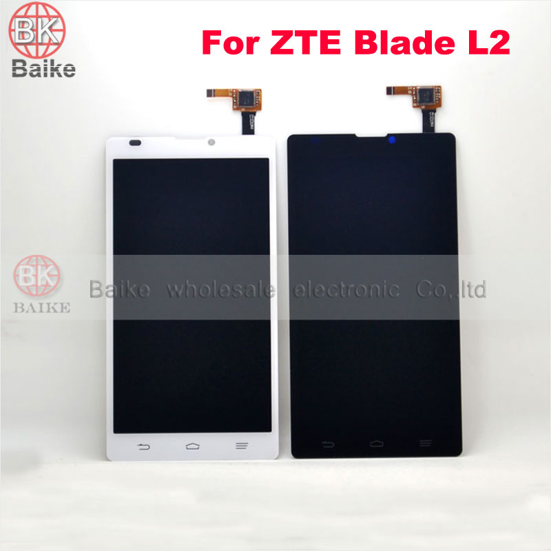 ФОТО Original for ZTE Blade L2 Lcd Screen Display with Digitizer Touch Screen Assembly Black / White