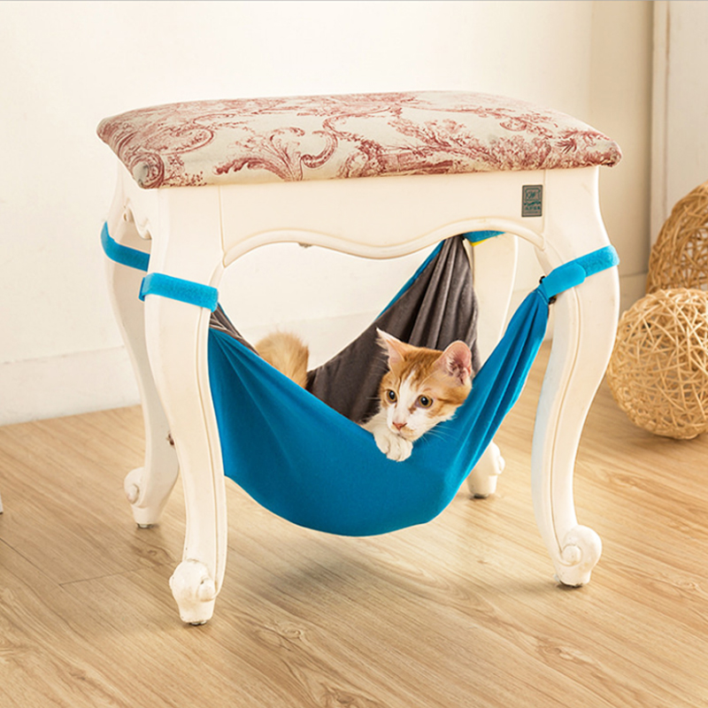 Cat Hammock Cat Bed Lounger Sofa Cushion Detachable Hanging Chair Cat Hammock Swing Hammock Pet Chair Hanging Pet Supplies FN P1