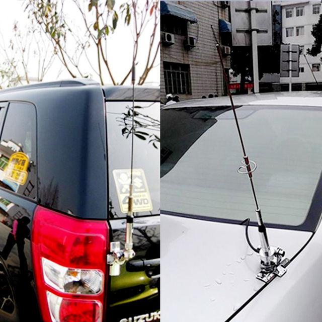 NL-770S Dual Band Antenna B-400 Antenna Mount Bracket Clip 5M Coaxial Cable Kit For Car Radio  KT8900 KT-8900R BJ-218 UV-25HX 4