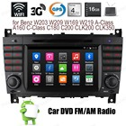 Android4.4 Car DVD Quad Core TOUCH SCREEN Support DTV BT 3G WiFi GPS FM AM radio For Benz W203 W209 W169 W219 A Class C Class