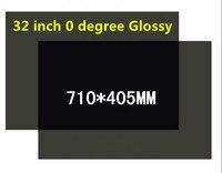 DHL EMS Бесплатная доставка 50 шт. 32 inch Широкий ЖК листы поляризационной пленки для 32 дюймов широкий экран, 0 градусов глянцевый поляризационная