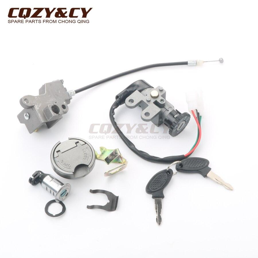Baotian BTM BT49QT-12E Rocky Throttle Cable