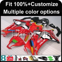 8Gifts Injection Mold Red White Black Cover Article ZX10R 2011 2012 ABS Motorcycle Fairing For Kawasaki
