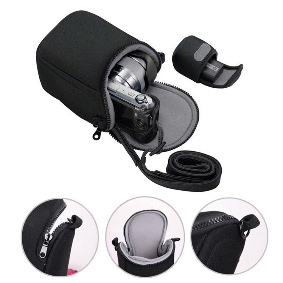 Camera Cover Case Bag for Canon EOSM3 EOSM10 EOSM2 EOSM EOSM6 SX500 SX510 SX520 SX530 SX540HS SX400 SX410 SX420is Shoulder Strap