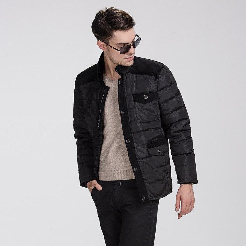 2016 winter thick Keep warm casual parka men Men's   down     coat   winter   down   jacket white duck