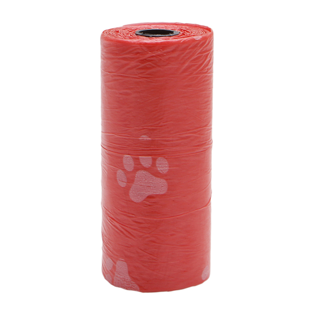 S-home 10 Roll/150PCS Pet Dog Waste Poop Bag Poo Printing Clean-up Degradable MAR17