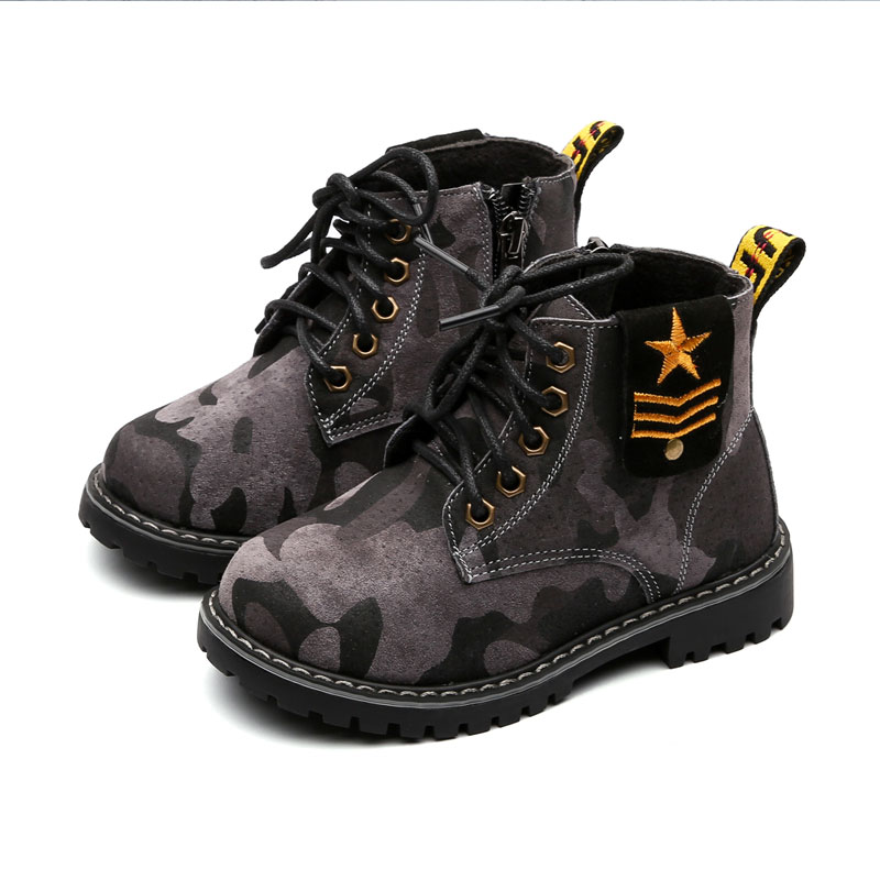 2019 Children Boots Boys Snow Waterproof Shoes Kids Camouflage Girls Martin Warm Shoes Sports Non-slip Toddlers Size 26 to 372019 Children Boots Boys Snow Waterproof Shoes Kids Camouflage Girls Martin Warm Shoes Sports Non-slip Toddlers Size 26 to 37