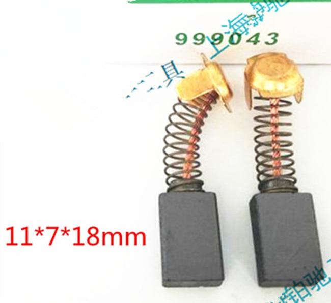 5 Pairs Carbon Brushes For HITACHI 999043  M8V2 M8SA2 KM12VC JCM4S H50SA H41SD H45SR H41SC H41SA H41MB G15SA2 C8FC C7UY C7U2