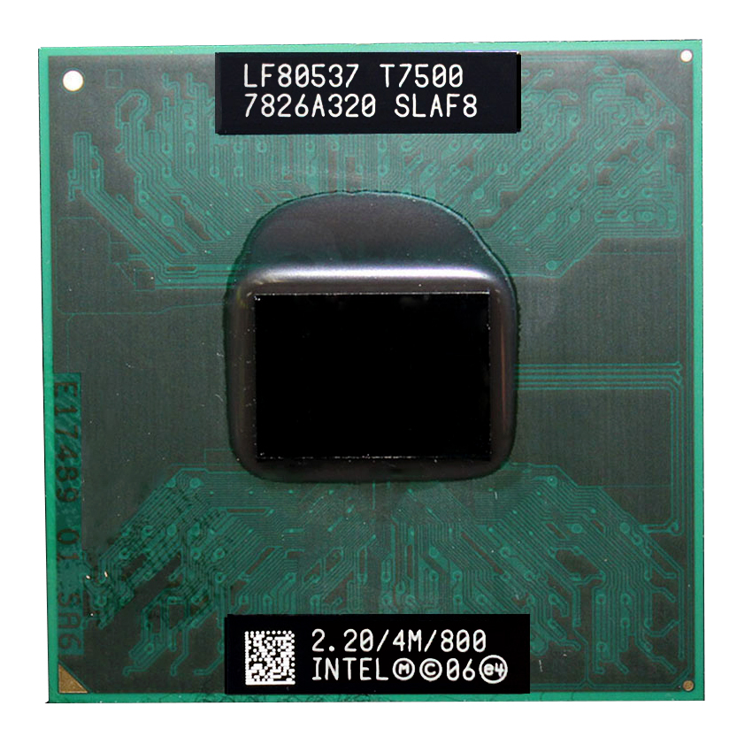 Intel Core Duo T7500 CPU (4M Cache,2.2GHz,800MHz FSB) ,Dual-Core Laptop processor for 965 chipset 100% new core duo t7500 cpu 4m cache2 2ghz800mhz fsb dual core laptop processor for 965 chipset