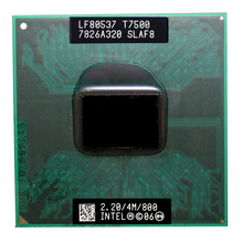 Intel Core Duo T7500 CPU (4M Cache,2.2GHz,800MHz FSB) ,Dual-Core Laptop processor for 965 chipset