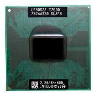 Intel Core Duo T7500 Cpu (4M Cache, 2.2 Ghz, 800 Mhz Fsb), dual-Core Del Processore Del Computer Portatile per Il 965 Chipset