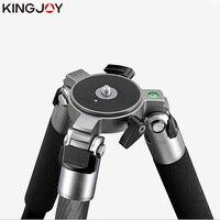 KINGJOY официальный K4007/K4207 Heavy Duty Professional штатив углеродное волокно видео камера штатив Стенд для всех моделей Movil SLR DSLR