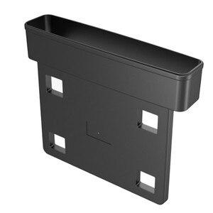 Image 5 - Receptor de asiento de coche negro, consola de relleno, bolsillo lateral, llena el espacio entre el asiento, accesorios para coche, 1 ud.
