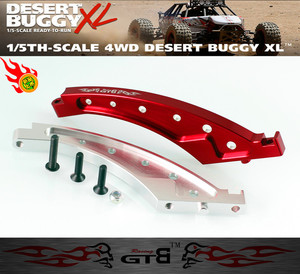 Image 3 - Aluminum Front Chassis Brace ,Rear Chassis brace ,Front Top Chassis Brace for LOSI DBXL