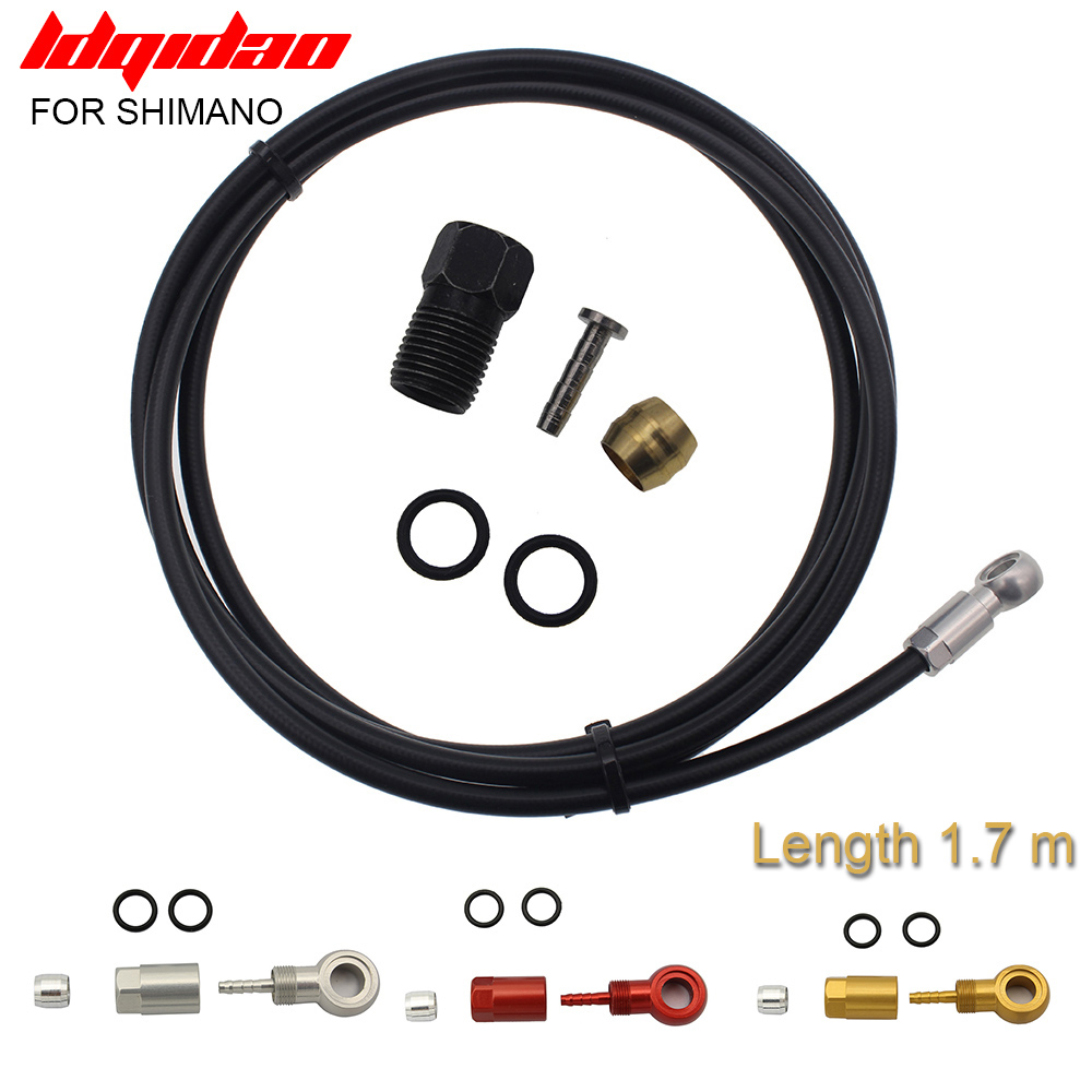 הידראולי דיסק בלם צינור mtb אופני עם מחט אופניים כבלי דיור זית בנג ו סט לshimano BH90 XT M785 M8000 m9000 M985
