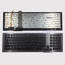 New Russian Keyboard For ASUS G75 G75VW G75VX Laptop RU layout With Frame With Backlit
