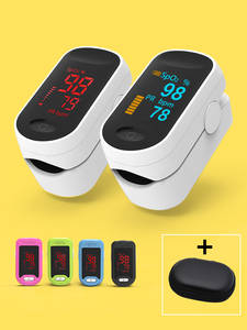 Monitor Spo2 Pulse-Oximeter Blood Oxygen-Heart-Rate LED Digital Oximetro-De-Dedo Health