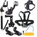 HOT SELL 8 in 1 Chest Head Mount Floating Accessories Kit For GoPro 1 2 3 4 Camera New Arrival