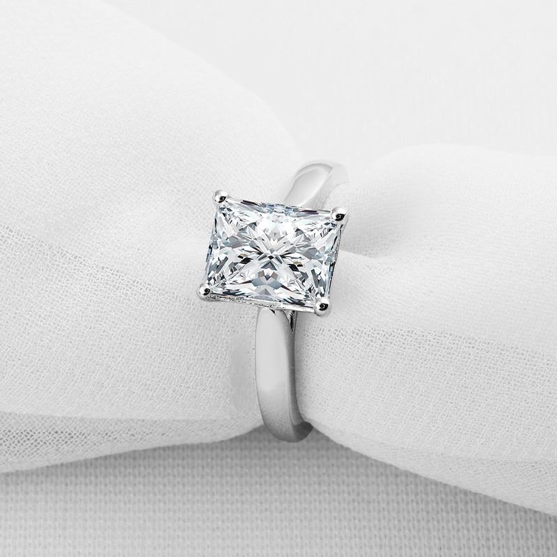 AINOUSHI 925 ստերլինգ արծաթագույն ժապավենի - Նորաձև զարդեր - Լուսանկար 3