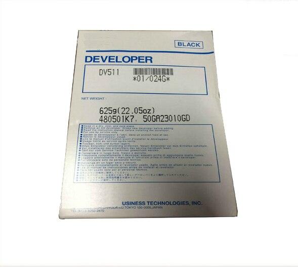 1 Bag DV511 Compatible Developer For Minolta DV511 BH420 421 500 501 7145 printer Copier Parts