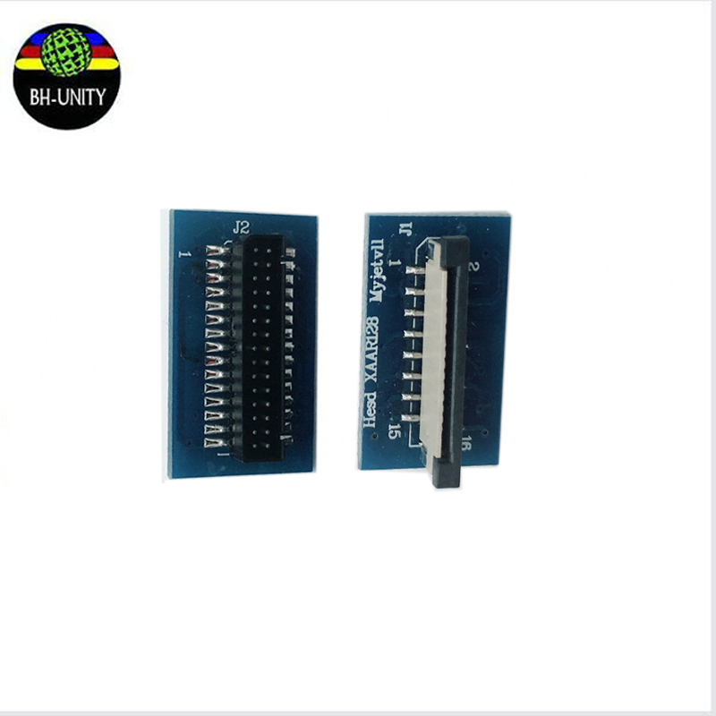 wholesale 10pcs/lot Large format printer parts Myjet <font><b>Xaar</b></font> <font><b>128</b></font> <font><b>printhead</b></font> connector transfer card 30pins image