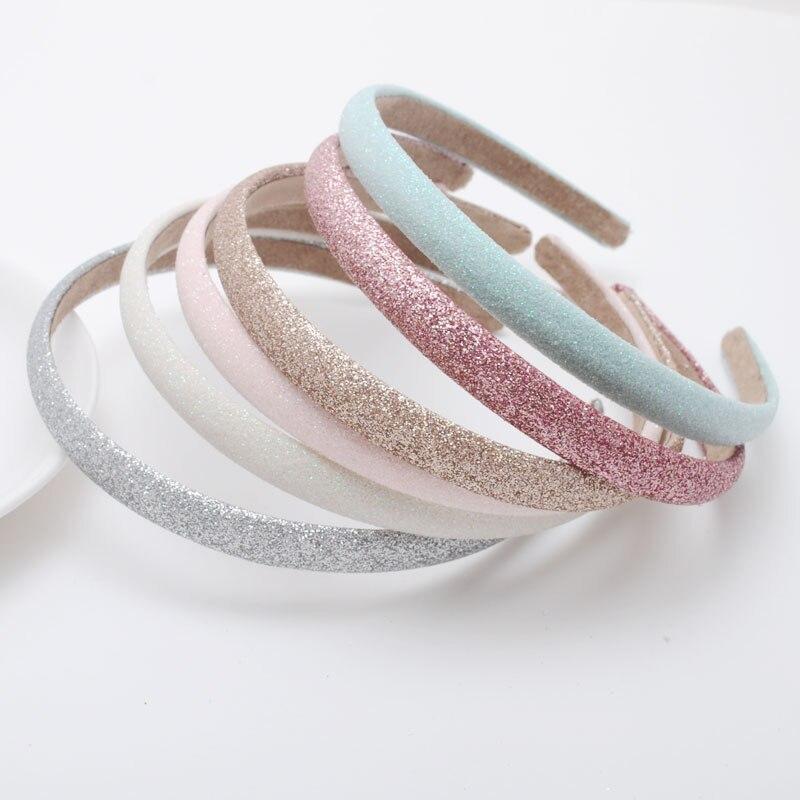 1 Piece Girls Glitter Hair Accessories Hairbands Cute Gift Headbands Hair Accessories(China)