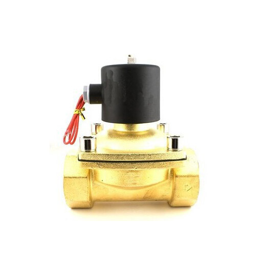 2 Way 2 Position Brass 1/2 2W400-40 Electric Solenoid Valve Water Air Fuels Gas Normal Closed N/C 220V AC Option DC12V DC24V 2w 025 06 2 way brass air gas water solenoid valve 1 8 bsp normal close dc12v dc24v ac110v ac220v