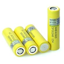 새로운 liitokala 원래 3.7 v 18650 he4 2500 mah 배터리 전원 20a 30a 방전 전자 특수 리튬 배터리