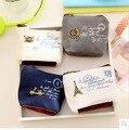 2016 Lindo 10.5*8*4 CM las mujeres de la lona del monedero de La Vendimia Mini Monederos Tarjeta de Bolsillo Bolsa de Almacenamiento regalo Para Los Niños Kids