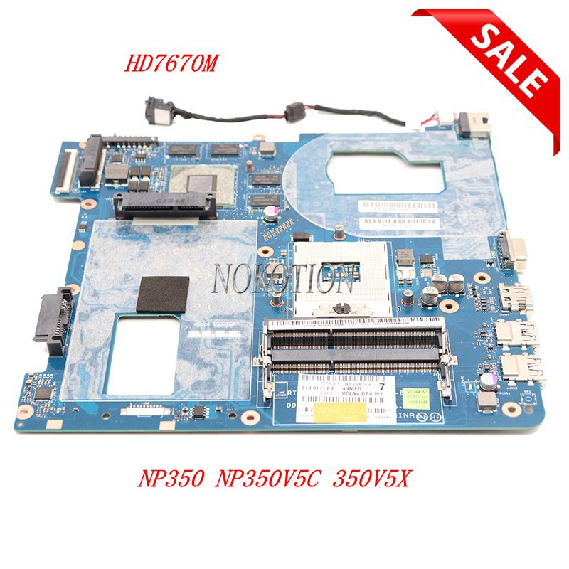 QCLA4 LA-8861P Laptop Motherboard For Samsung NP350 NP350V5C 350V5X HM76 HD7670M BA59-03397A BA59-03553A BA59-03538A BA59-03393A