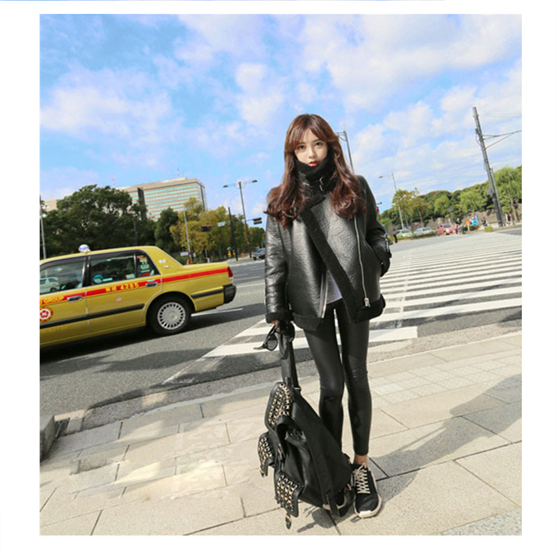 Abner S Garden Center Coupon: 2017 Abner Winter New Fashion Warm Faux Leather Short
