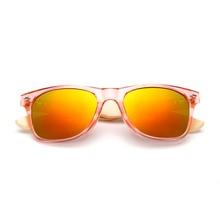 Wooden Wayfarer Sunglasses For Men