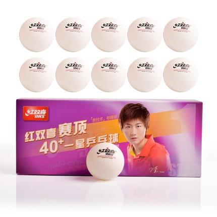 100 Balls DHS D40 Table Tennis Balls Seamed New Material Plastic Poly Ping Pong Balls Tenis