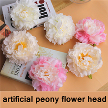 Artificial Silk Peony Flower Hibiscus Home Wedding Decoration Background Wall