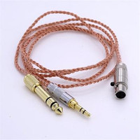 1 2M 4 Cores 5N OFC HIFI Cable Headphone Upgrade Cable For AKG K272 K242 K702