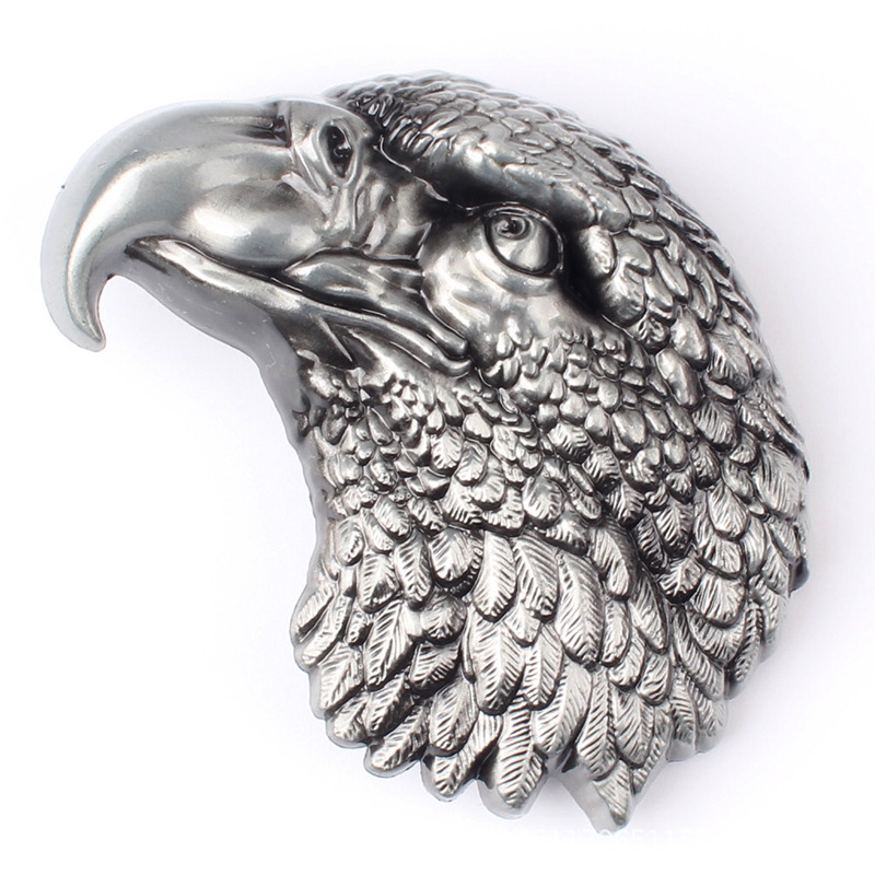 The Eagle Head Belt Buckle Metal Lead