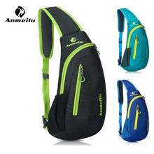 Anmeilu 8L Road Mountain Bike Bag Waterproof Nylon Sport Travel Cycling Messenger Shoulder Bag Bicycle Chest Bag Accessories