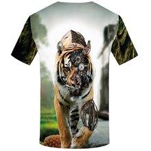 Men's Fabric Tiger 3D T-Shirt
