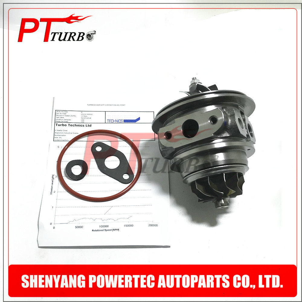 For Hyundai Grand Starex 1.5L 81KW Water Cooled And Oil Lubrication Cartridge 28200 42800 Turbo Charger Core 49135 04350 Turbine