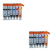 12X LuoCai cartuchos de tinta Compatíveis Para Canon PGI725 CLI726 PGI 725 CL 726 MG6170 MG6270 MG8170 MG8270 impressoras PGI-725 CLI-726