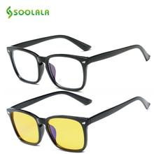 SOOLALA Anti Blue Light Blocking Filter Computer Protection Glasses Goggles Glare Eyeglasses Frame Ray