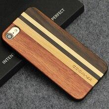 Для Apple iPhone 7 уникальный природный hardmade Дерево чехол с мягкой ТПУ Защита Чехол для iPhone 7 s Чехол