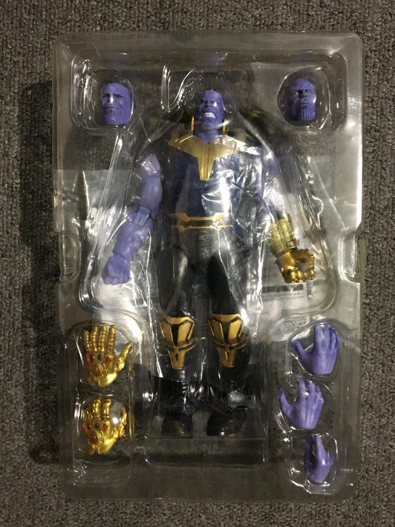 SHFiguarts Avengers Thanos Action Figure Infinity War Super Hero PVC Collectible